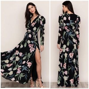 Yumi Kim Ever After floral maxi dress